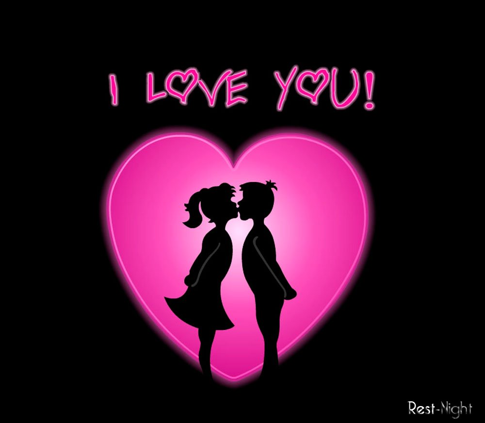 онлайн картинки про любовь: