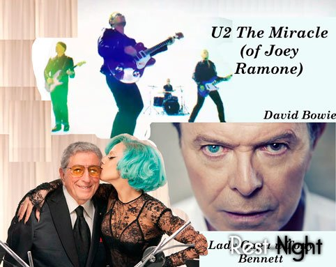 ���������� ������� - Lady Gaga � Tony Bennett, David Bowie � ������ U2