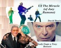 ���������� ������� - Lady Gaga � Tony Bennett, David Bowie � ������ U2